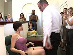 Actively watching Office girls