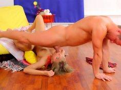 Teen blondie Jayden goes for her roughest sex ever