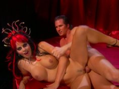 Insatiable demon of sex Mikayla Mendez gets facial after a hot fuck