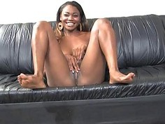 Dirty Black Hood Rat Getting Cocks Slammed In To Her Mouth