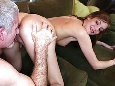 Matured cock ravaging on Molly Manson