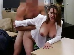 Business woman fucked for a plane ticket