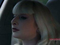 Mature blonde fattie Olivia Rose has fun in BDSM game