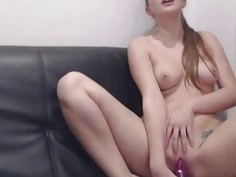 Teen Orgasms from Vibrator