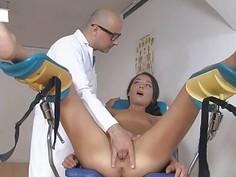 Sweet hottie Nataly Gold loves huge cock to fuck