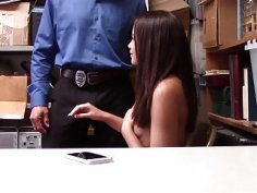 Teen thief Avi Love got fucked in her tight pussy