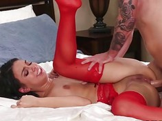 Taylor Mays anal fucked spreads sideway