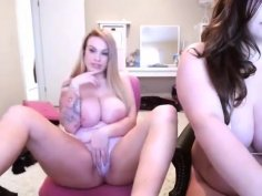 Hot Homemade Blonde, Webcam, Lesbian Scene You'Ve Seen