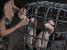 Tickling nightmare for Hazel Hypnotic